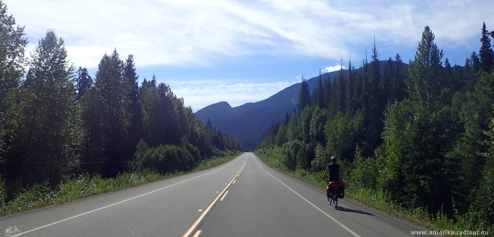 Yellowhead Highway Prince George to Tete Jaune Cache