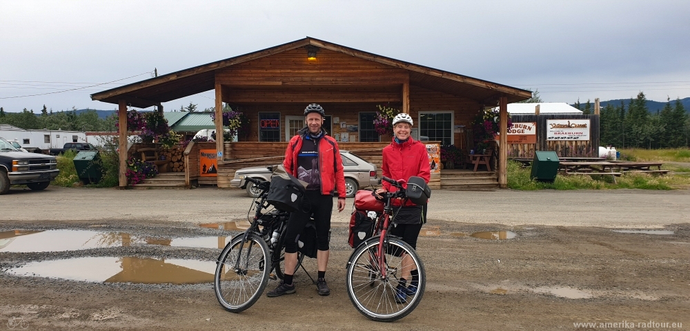 Cycling from Whitehorse to Anchorage